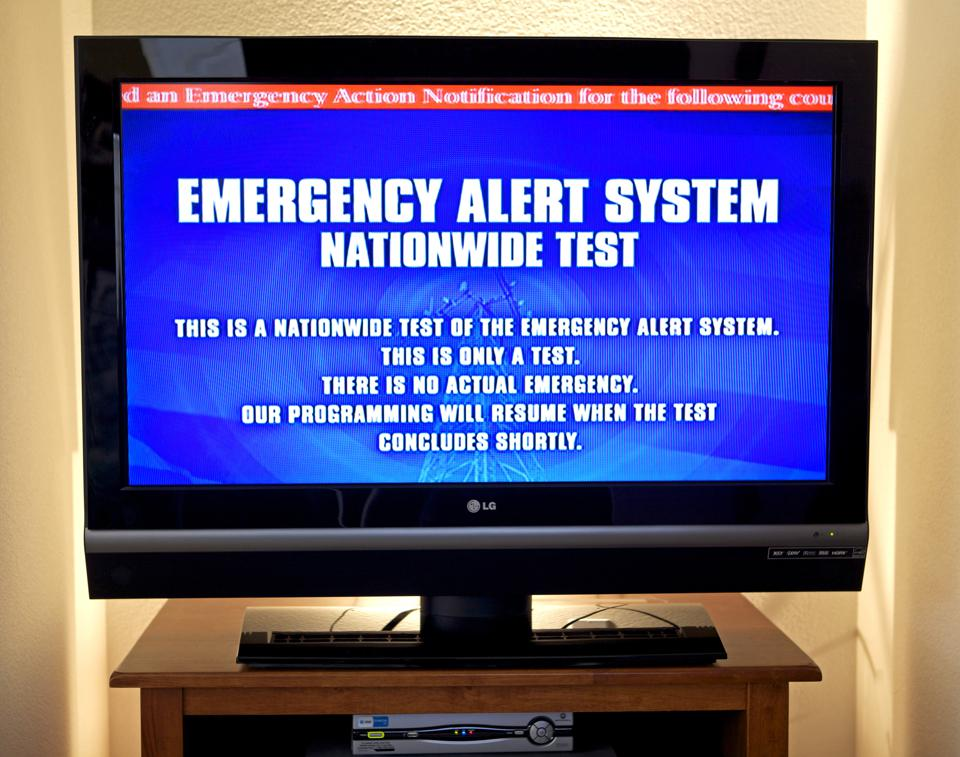 First Nationwide National Emergency Alert Test