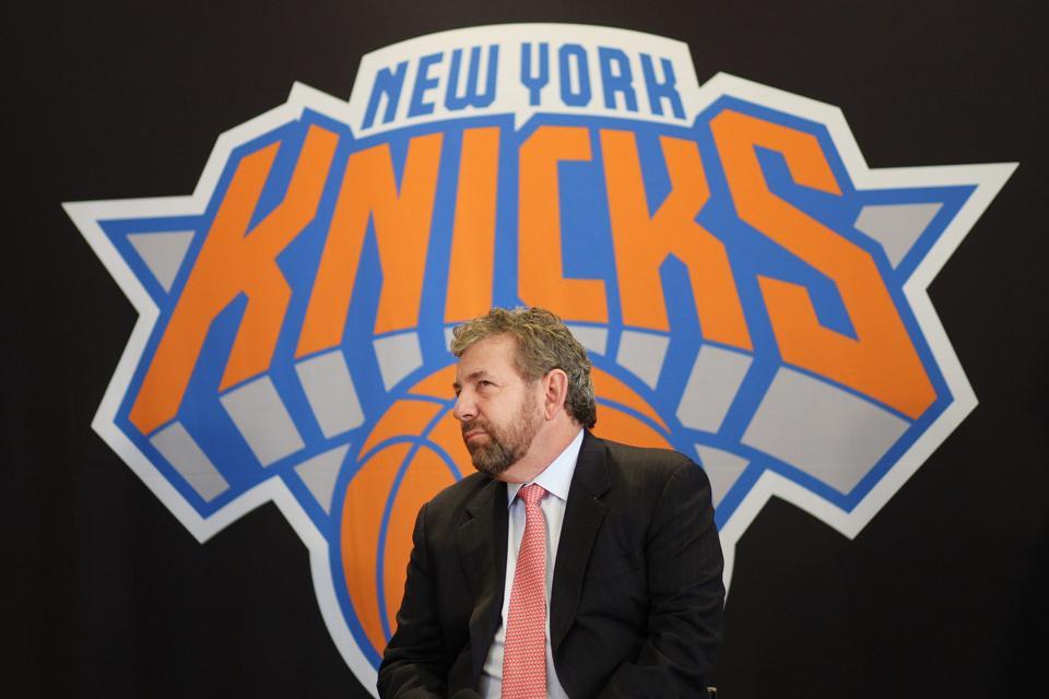 False Or Not, James Dolan Has His Next Knicks Savior In Mind