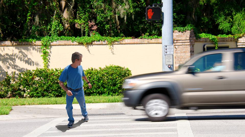 SUVs cause more injuries and deaths striking pedestrians than passenger cars, according to the IIHS.