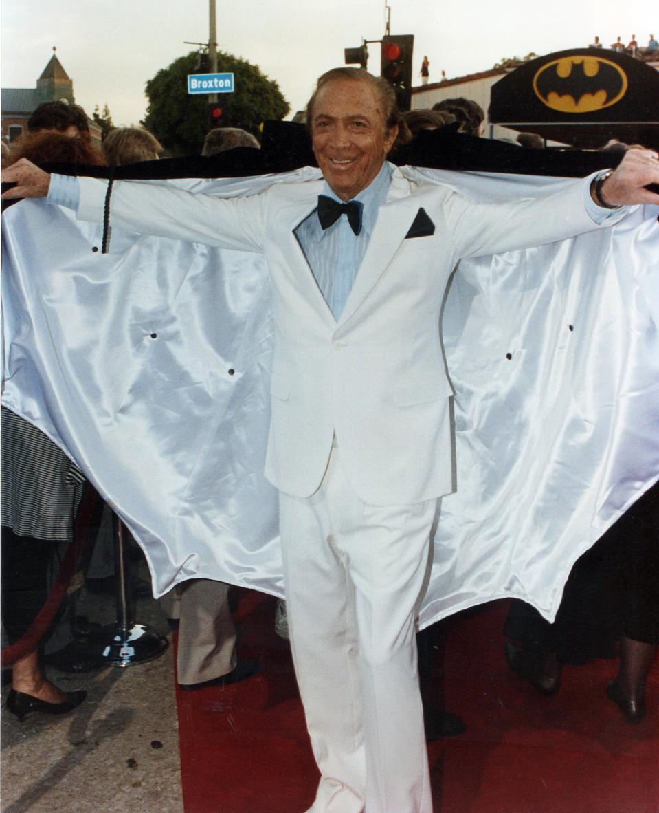 BATMAN movie premiere