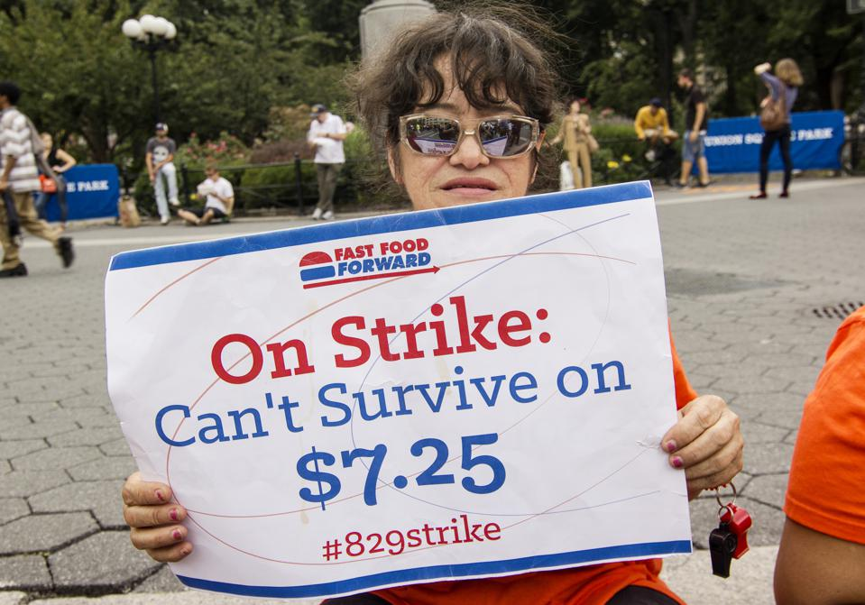 Low-Wage Workers Strike