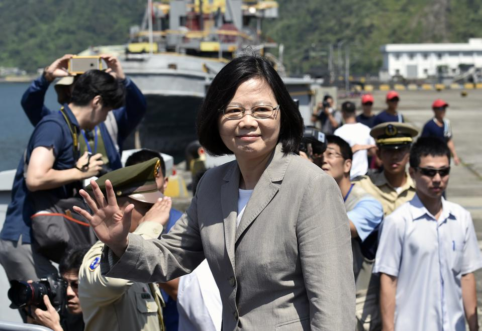 New Urgency For Taiwan President's Goal Of Easing Away From China