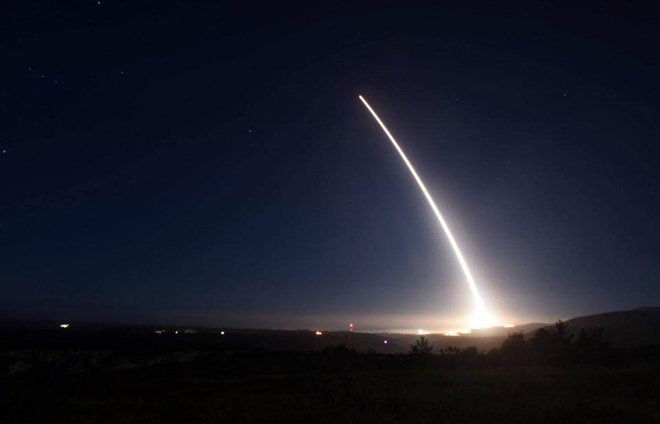 Nuclear Missile Test
