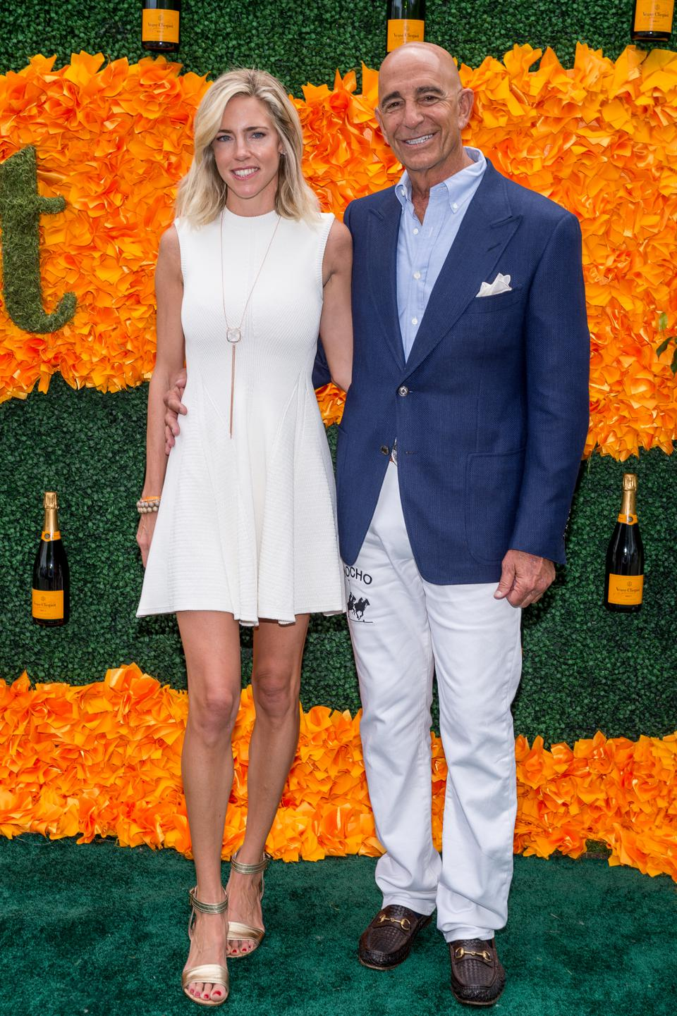 Thomas Barrack and his wife Rachelle at a polo match in Jersey City, N.J.