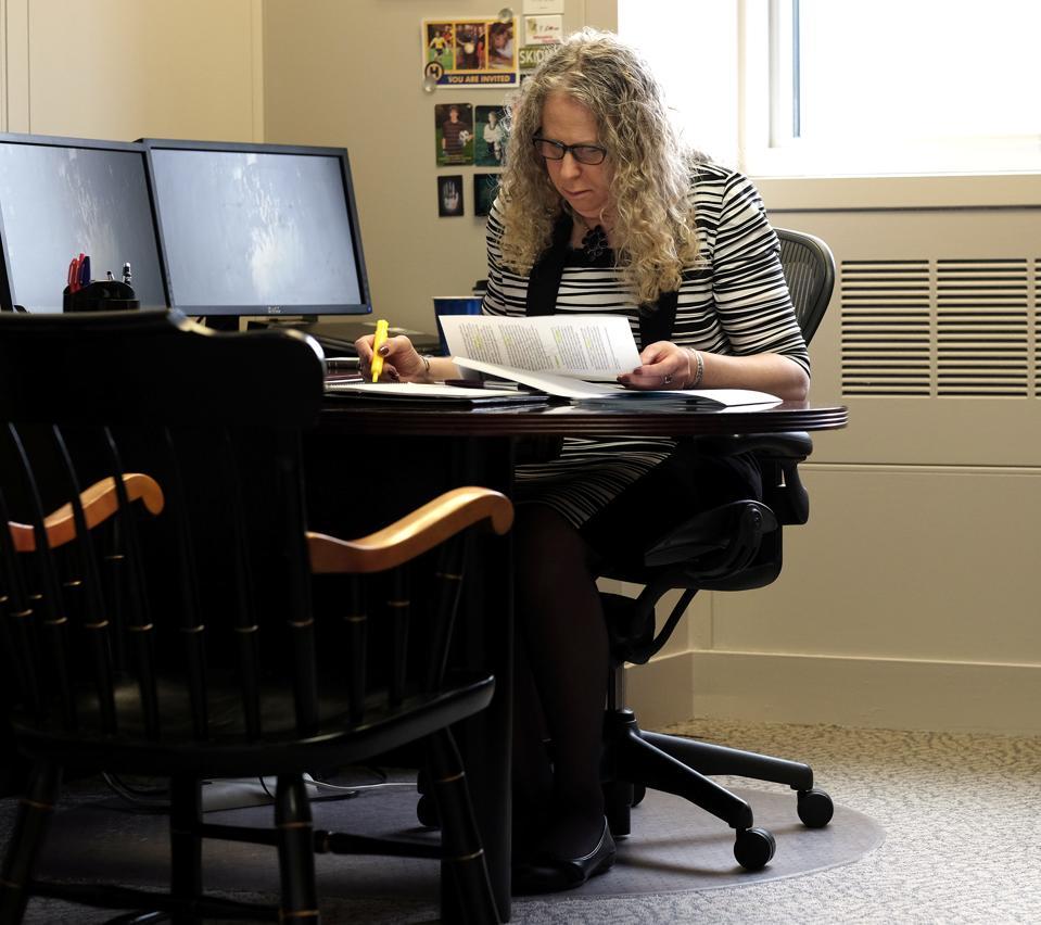 HARRISBURG, PA,- MAY 17: Rachel Levine, MD, physician general f