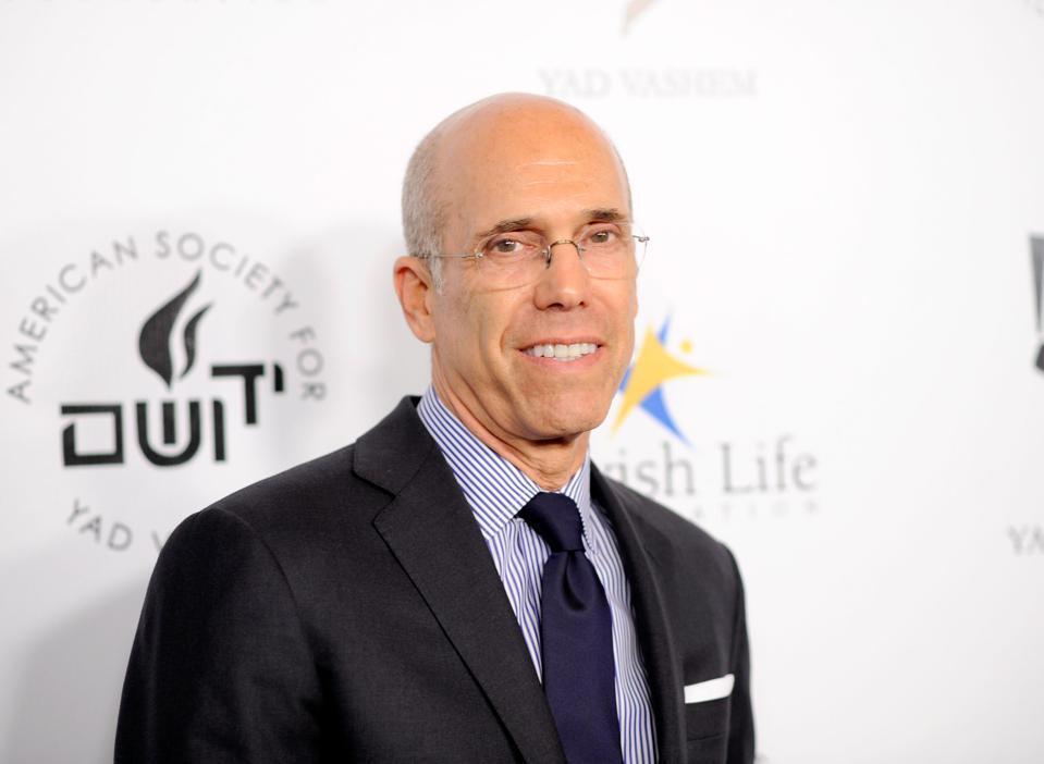 Katzenberg is a legend in Hollywood circles.