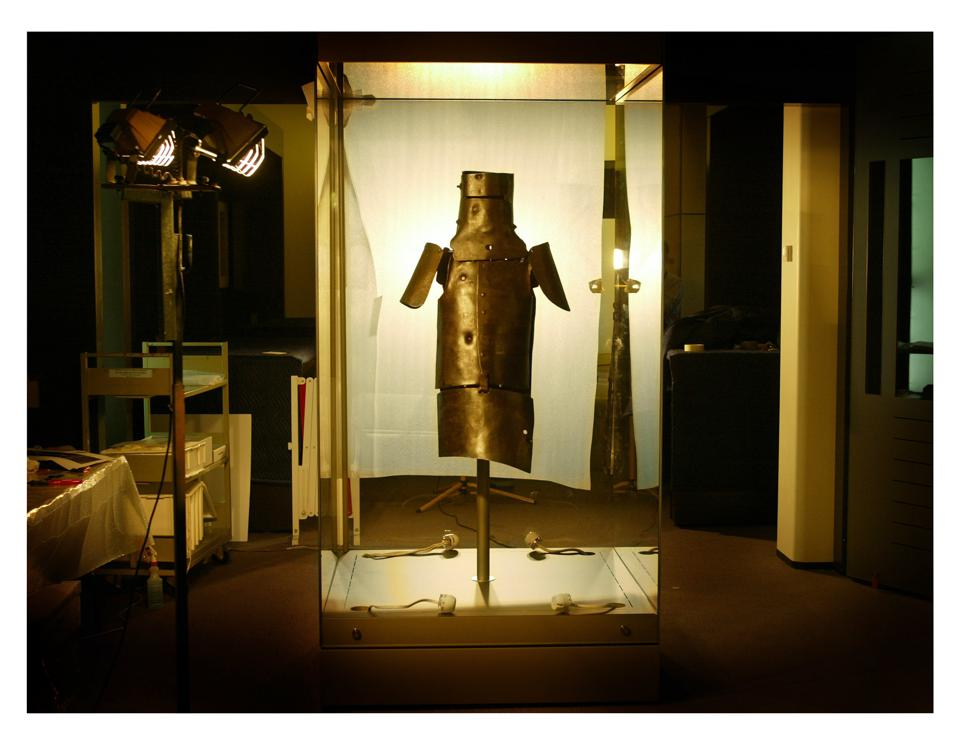 Ned Kelly's armour released from Old Melbourne Jail to it's new resting place in