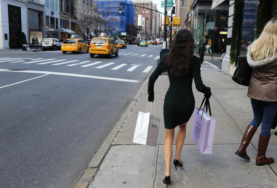 New York City Black Friday shopping