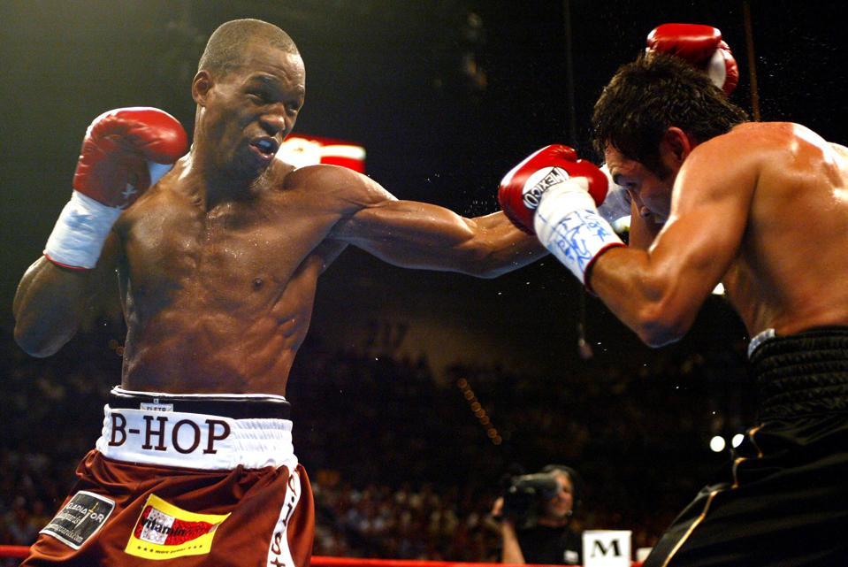 Bernard Hopkins Boxing Hall of Fame