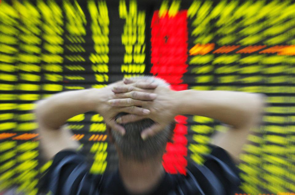 China shares wipe out 2015 gains as stocks tumble 8.5%