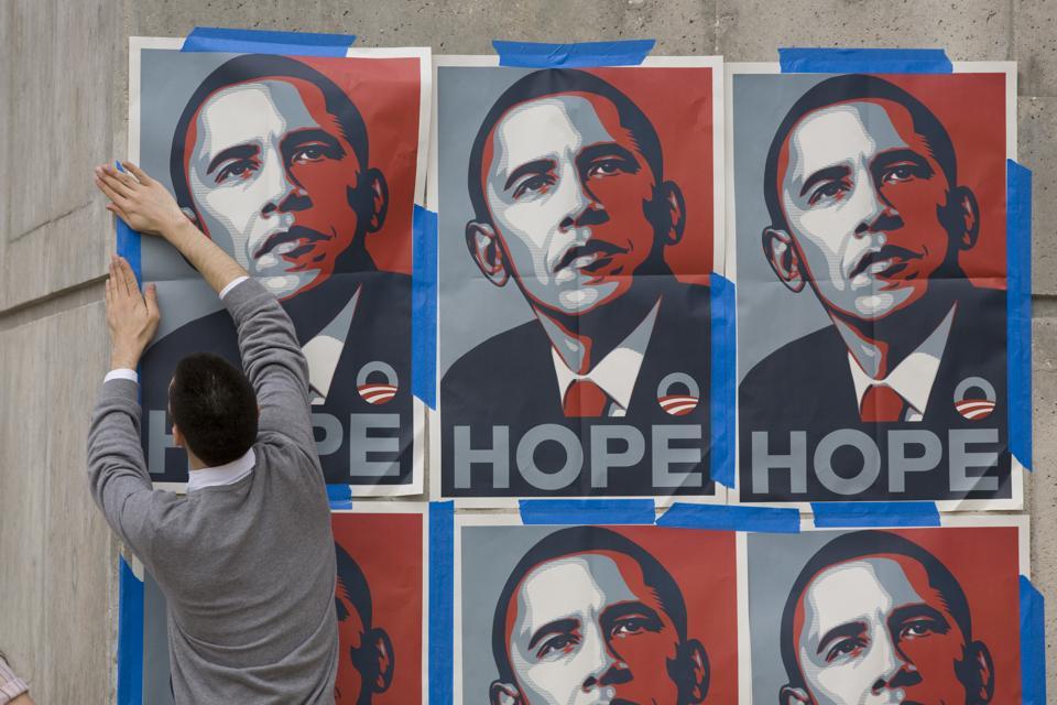 USA - 2008 Elections - Texas Democratic Debate - Obama Supporter