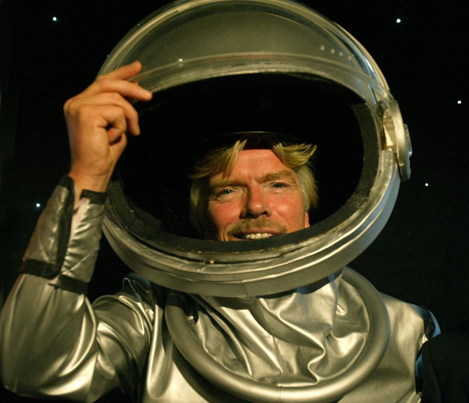Sir Richard Branson announces Australia's first private astronauts in Sydney, 13