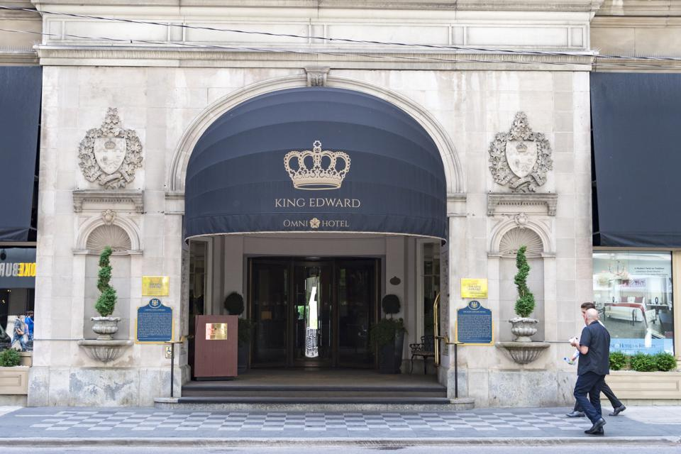 The Omni King Edward Hotel is a historic luxury hotel in the...