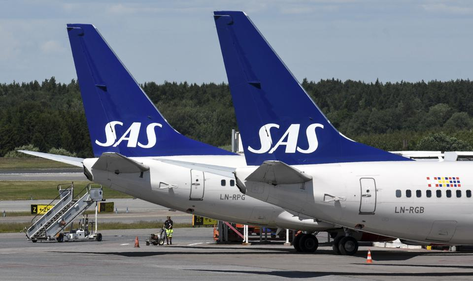 Airline Sas Must Recapitalize To Survive As Losses Mount