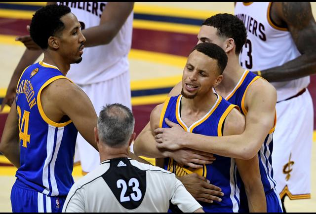 Steph Curry Should Have Been Suspended For Game 7 Of The NBA Finals