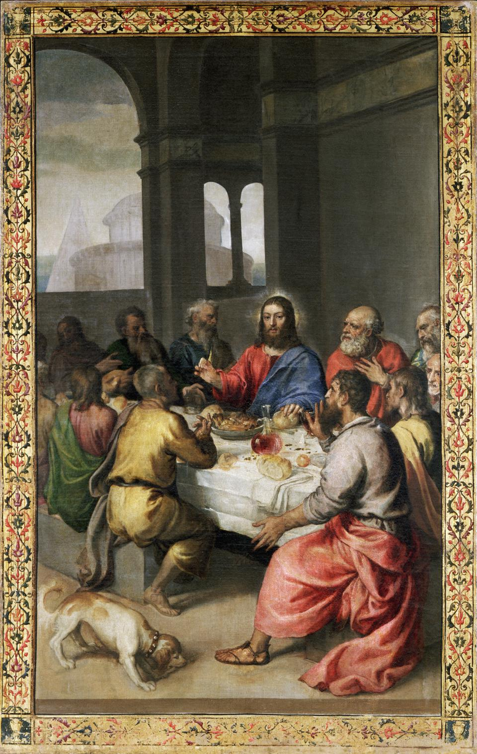 Last Supper by Titian