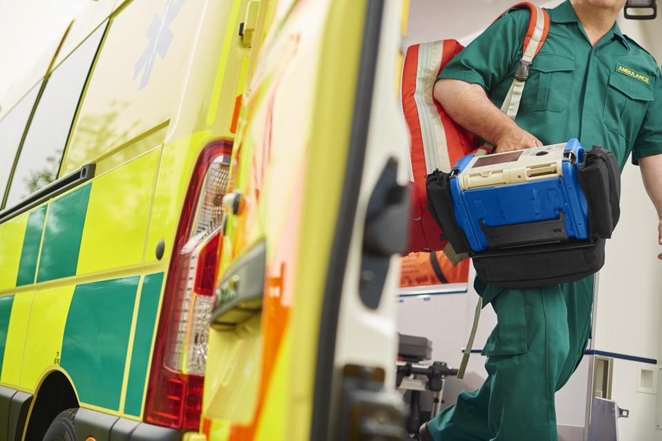 paramedic and ambulance