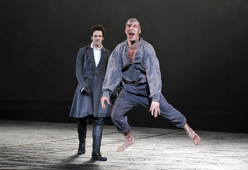 UK - ″Frankenstein″ performance in London