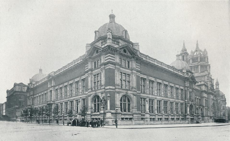 The New Victoria And Albert Museum Opened On June 26Th, 1909', c.1909.