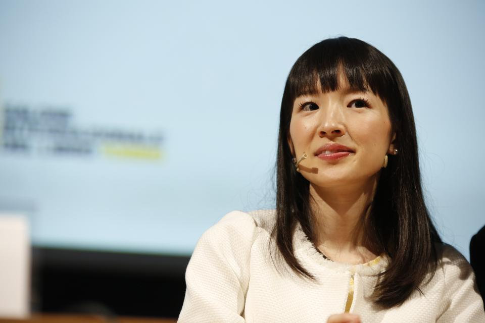 Marie Kondo at Turin Book Fair