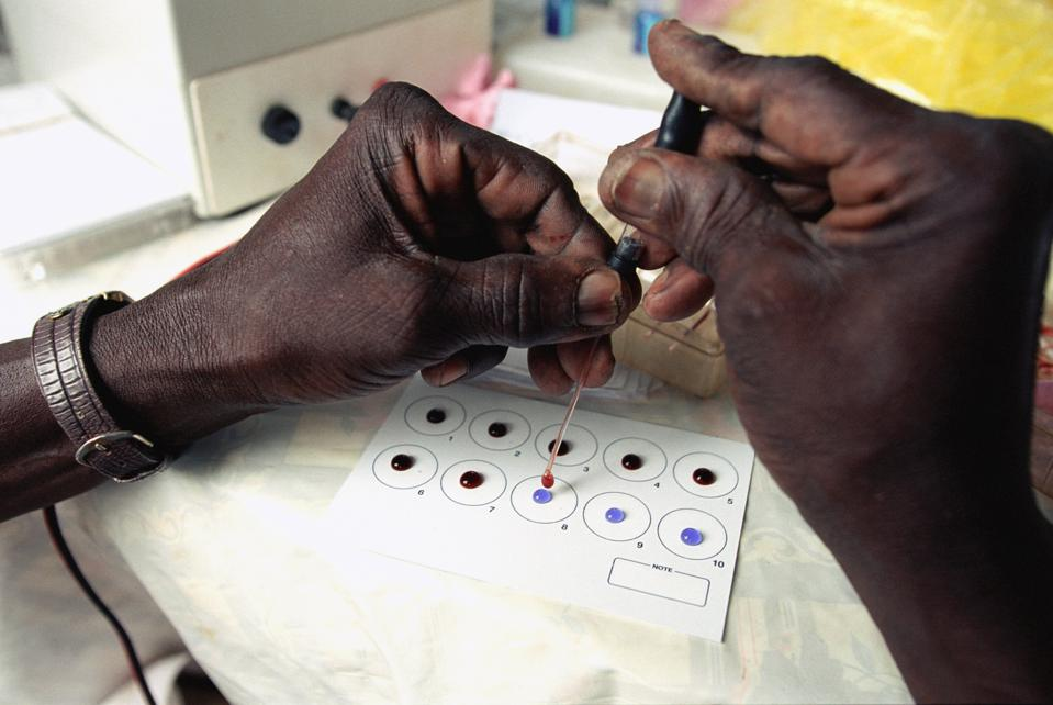 Medical screening campaign for ″sleeping sickness″ in Chad