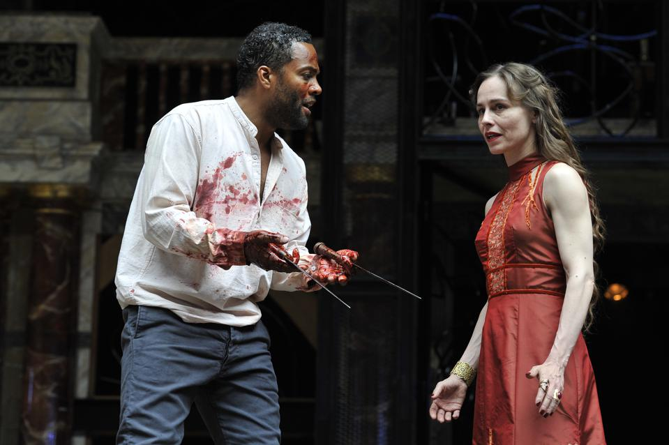 ″Macbeth″ Performed At The Globe Theatre