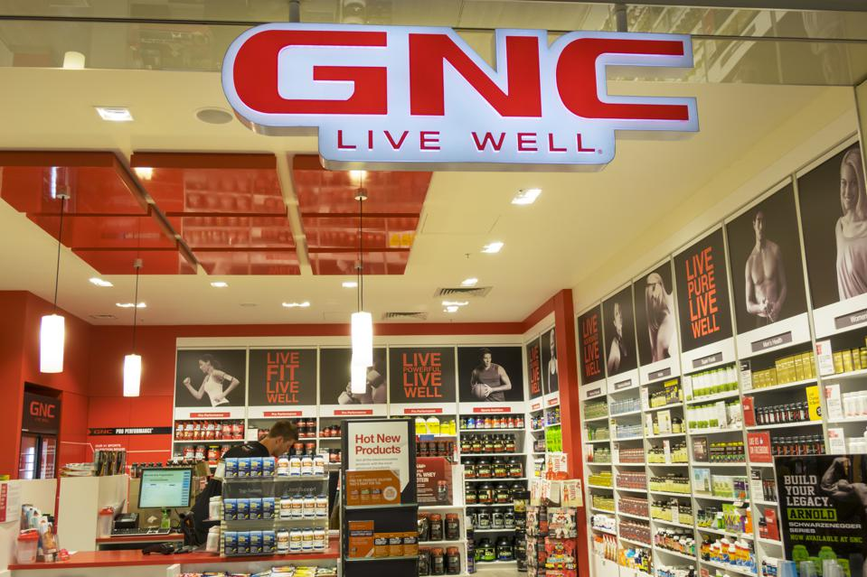 Australia, Victoria Melbourne Central sale shopping GNC Live Well dietary supplements center