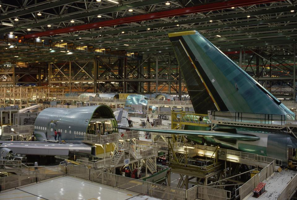 Rather than being built, aircraft are being put into storage by the thousands.