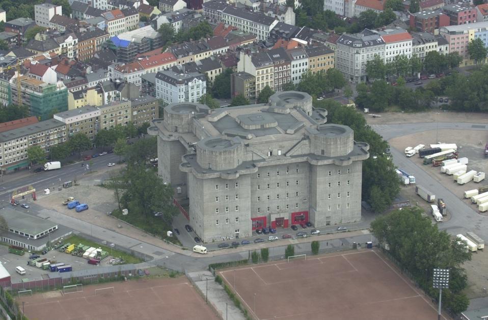 Bunker am Heiligengeistfeld / Hamburg