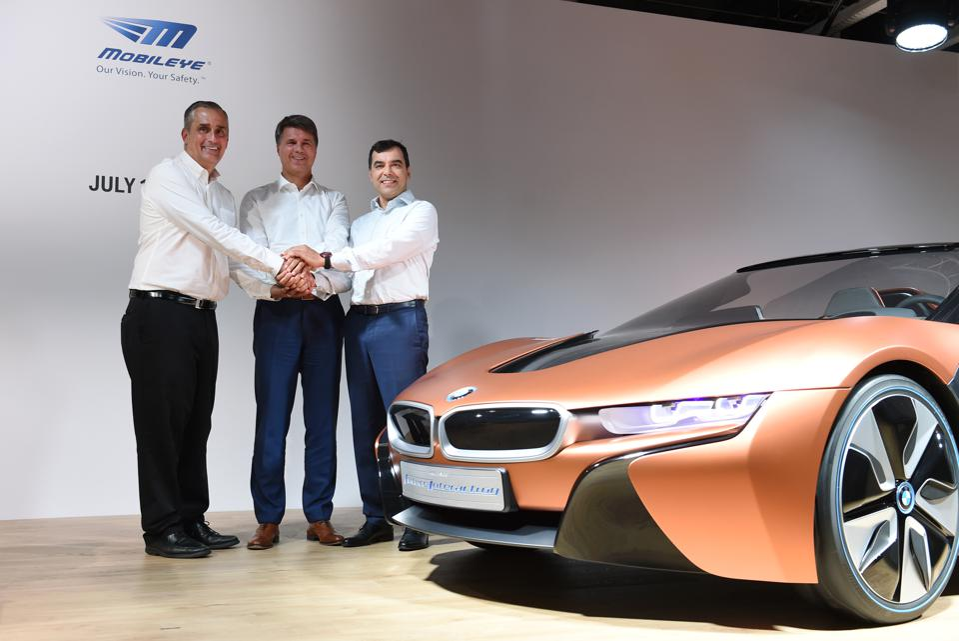 Mobileye Curtailing Tesla Autonomous Relationship In Favor Of Bmw Intel