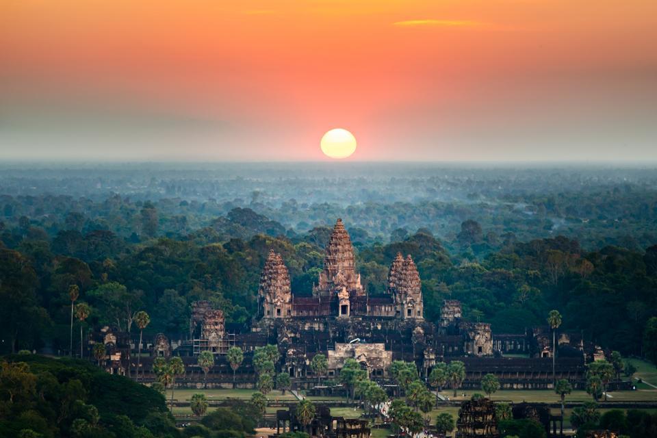 Angkor Wat Cambodia coronavirus