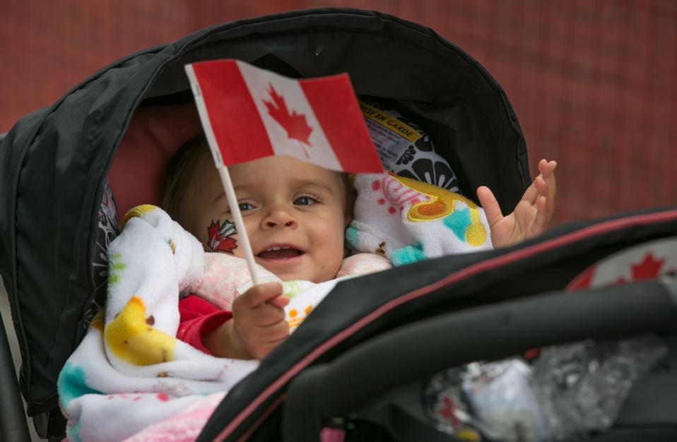 Vancouver BC Celebrates Canada Day