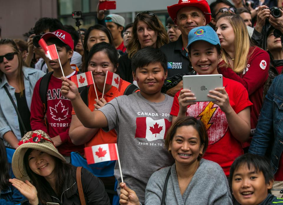 Immigrants Flock To Canada, While U.S. Declines