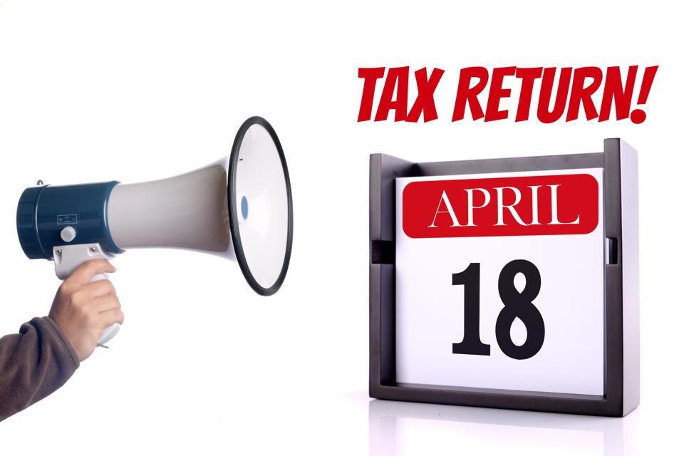 Taxes due date