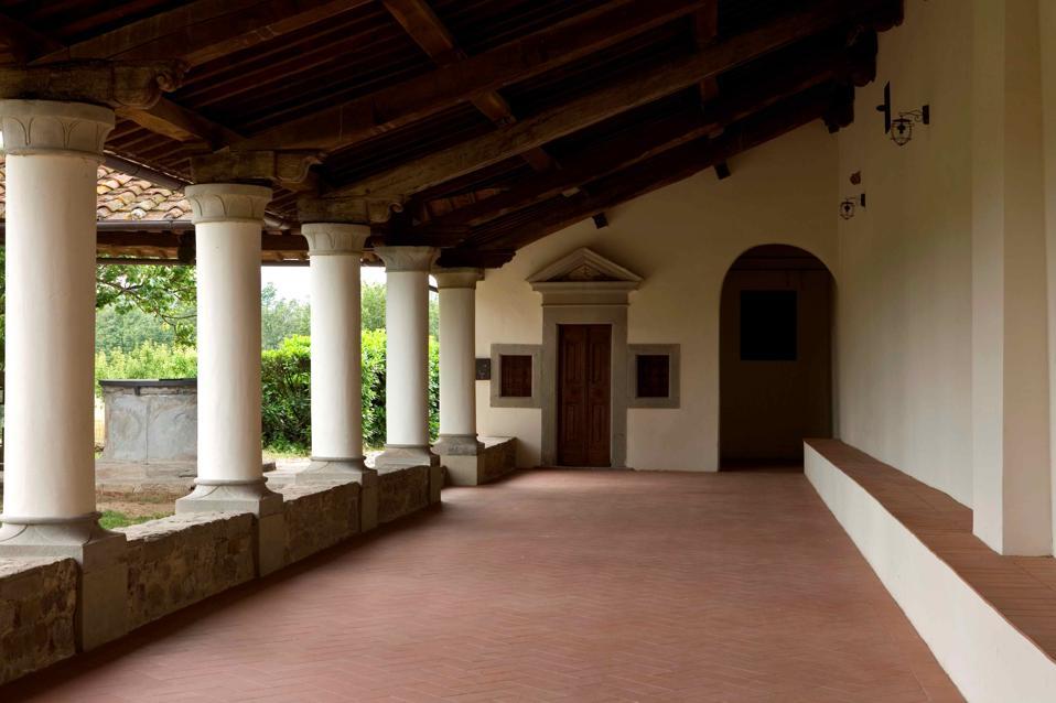 Convent Bosco Ai Frati. San Piero A Sieve. Mugello. Tuscany. Italy