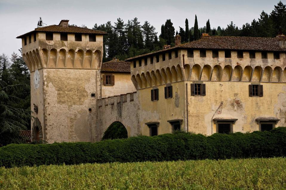 Cafaggiolo Castle. Barberino Del Mugello. Mugello. Tuscany. Italy