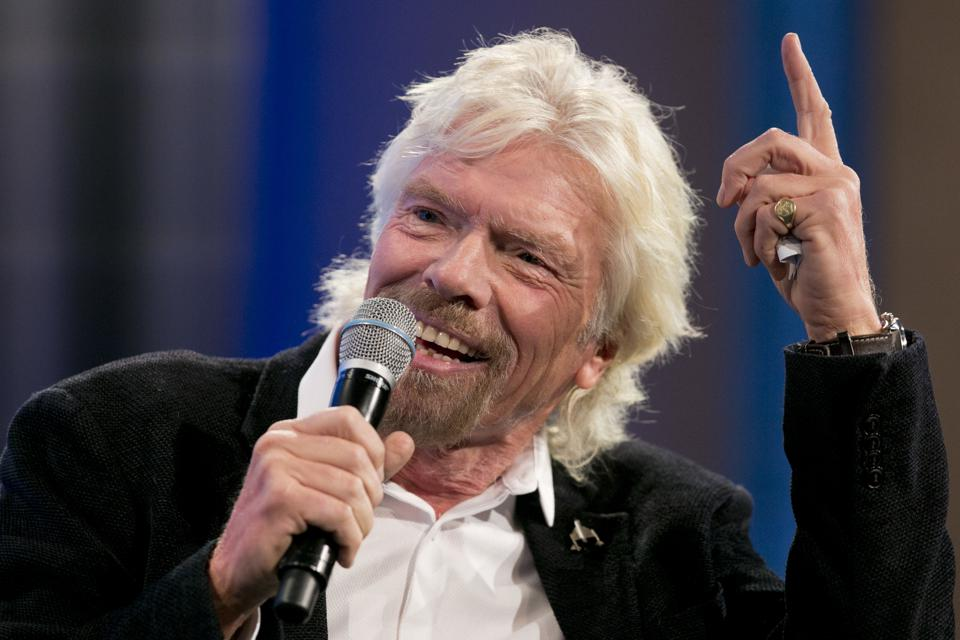 Richard Branson Shares His Best Business Advice In 4 Letters