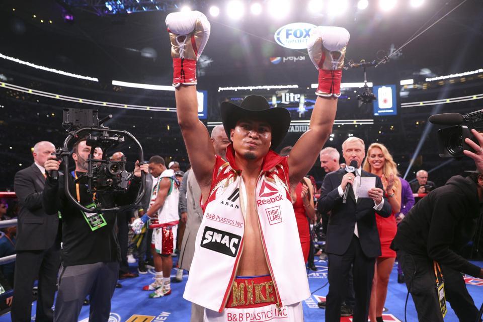 Spence Garcia Boxing