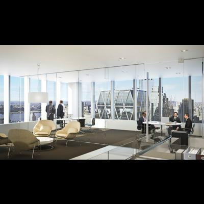 Asia Leads Luxury Office Space; New York Lags