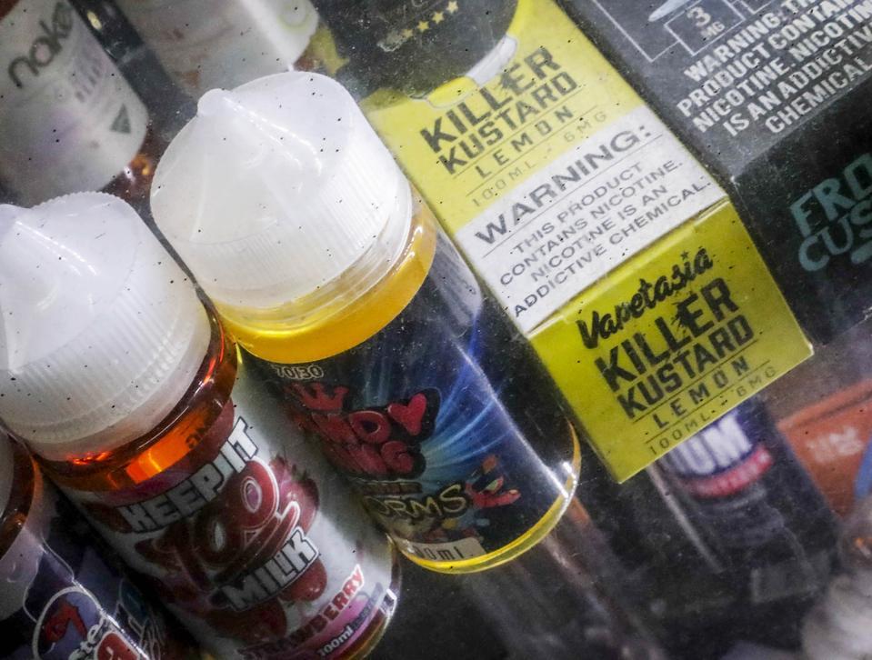 Vaping Flavor Ban Michigan