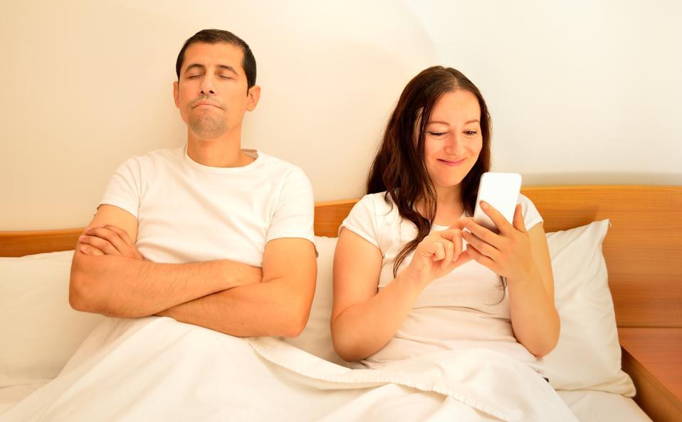 Lost sexual interest in partner