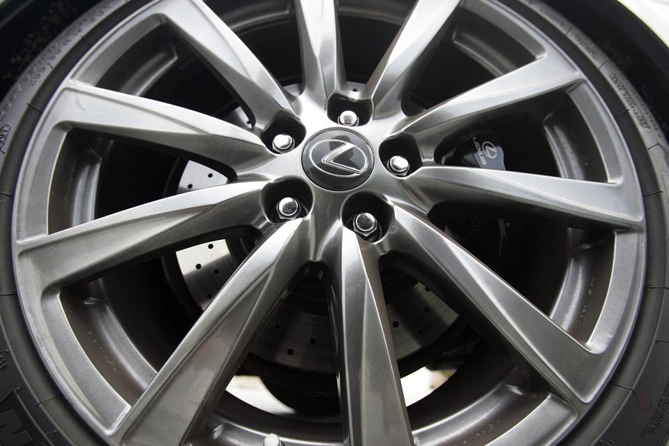 The Lexus ISF wheel is just one of hundreds of OEM designs by BBS.