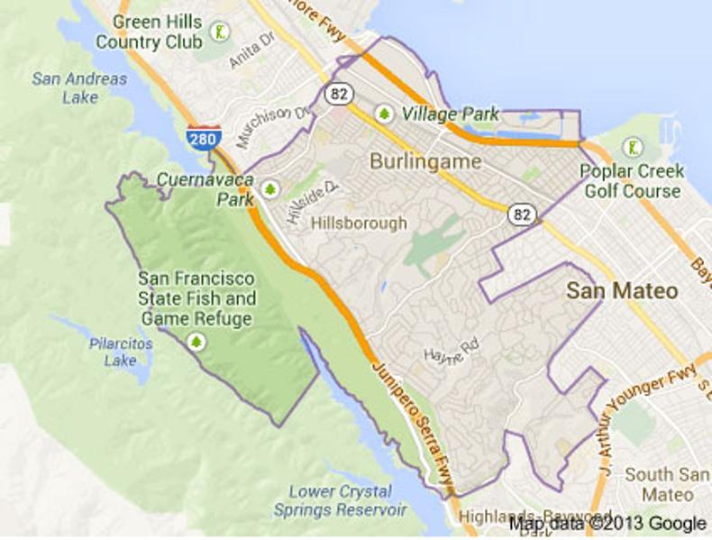Hillsborough, Calif. 94010 - In Photos: Homes In America's ...