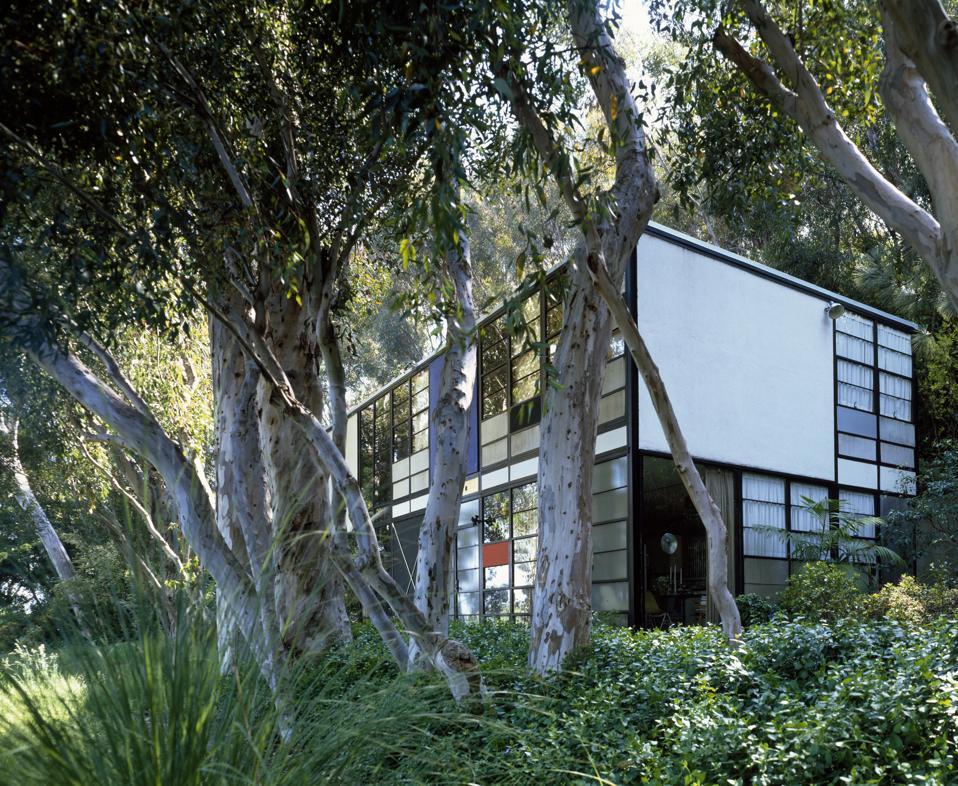 Eames House, Case Study House #8, Chautauqua Drive, Pacific Palisades, California