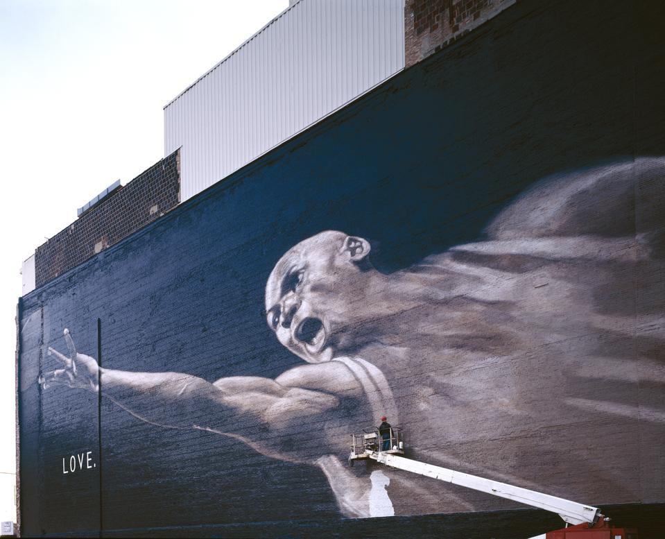 Michael Jordan mural, Chicago, Illinois