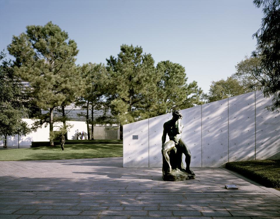 Cullen Sculpture Garden at the Museum of Fine Arts, Houston, Texas