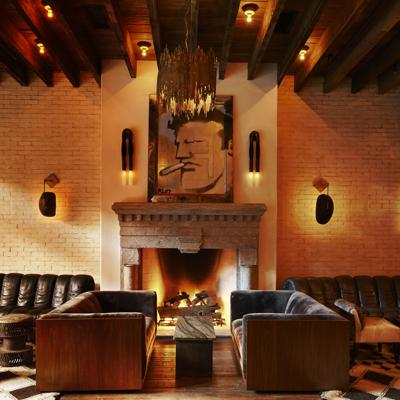 The Best Hotel Fireplaces in NYC