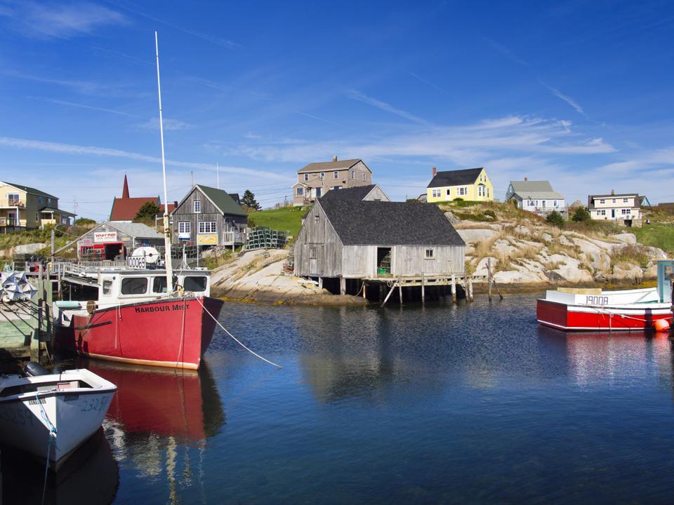 Canada Nova Scotia online virtual travel COVID-19 travel