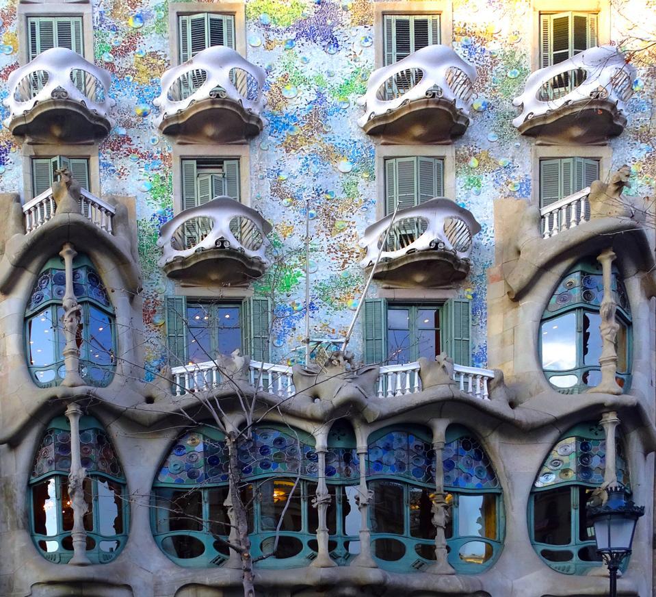 The Casa Batlló.
