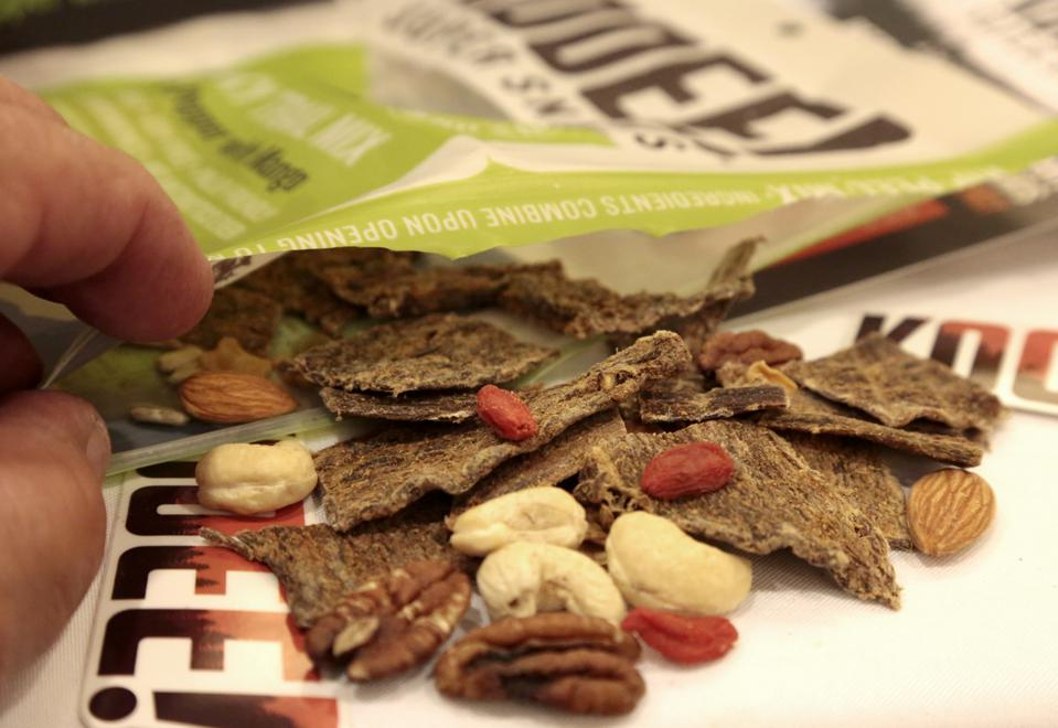 ANAHEIM, CA., MARCH 6, 2015:  March 6, 2015: With a blend of beef jerky, dried fruit, nuts and seeds